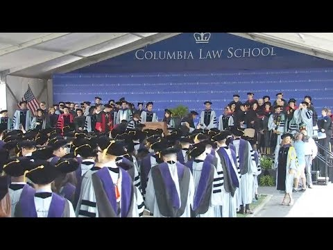 Columbia Law School Graduation 2017