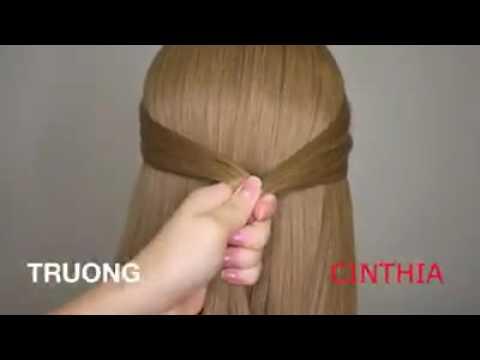 Cách tạo kiểu tóc đơn giản