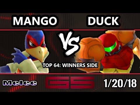 GENESIS 5 SSBM - C9 | Mango (Falco) VS P1 | Duck (Samus) - Smash Melee Top 64 Singles