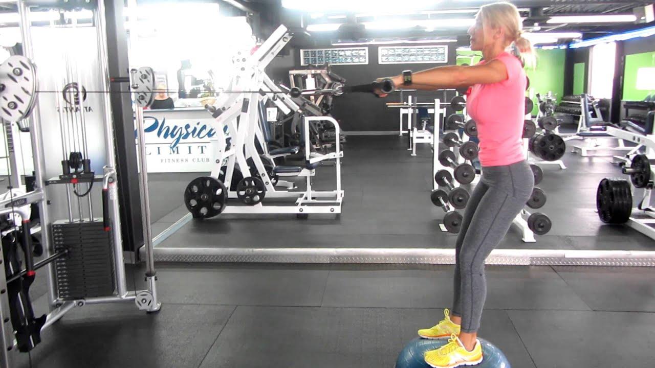 cable machine squat