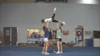Cheerleading Stunt: Swedish Falls