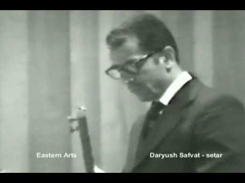 Master Daryush Safvat Persian Setar, 1962 recording.wmv