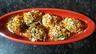 Chatpati egg chat street style