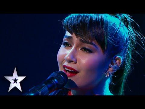 Gerphil Flores Opera Ballad Wows Judges (Again)   Asia's Got Talent Semis 2
