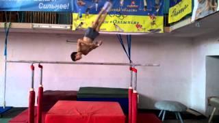 Спортивная гимнастика(Томащук Илля 9 лет) тренер Ягодин Сергей, Черкассы