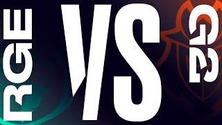 RGE vs. G2   Semifinals Game 1   LEC Summer Split   Rogue vs. G2 Esports (2020)
