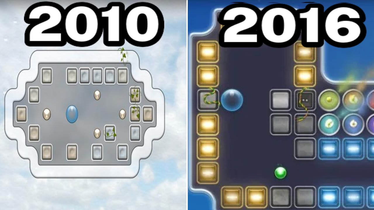 Graphical Evolution of Quell Games (2010-2016)