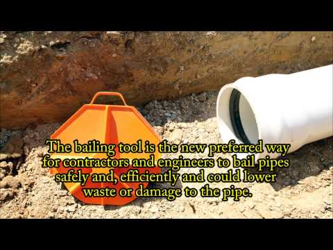 How to install sewer pipe