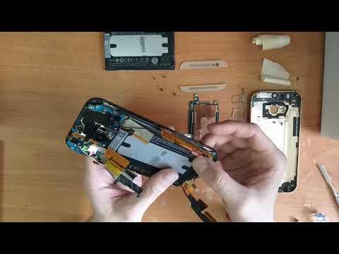 HTC One M8s Замена аккумулятора