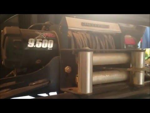 Smittybilt XRC 9500 lb Winch Review #2