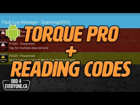 Reading Engine Trouble Codes with Torque Pro for Android: OBD4Everyone Ep   12