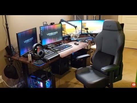 KingGeorge Rainbow 6 Twitch Streamer Setup Full Tour