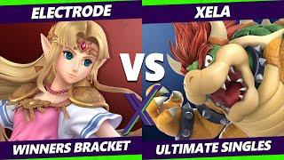 S@X 411 Winners Bracket - electrode (Zelda) Vs. Xela (Bowser) Smash Ultimate - SSBU