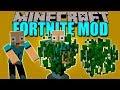 BUSH MOD - Arbusto y gesto de FORTNITE en Minecraft - Minecraft mod 1.12.2 Review ESPAÑOL