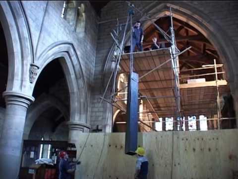 SWINTON St.MARGARET CHURCH ORGAN. (RESTORATION).