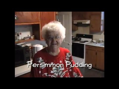 How to Make Persimmon Pudding (Indiana/Hoosier Specialty)
