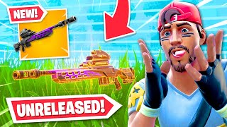 I got to use an UNRELEASED weapon... IT'S INSANE!