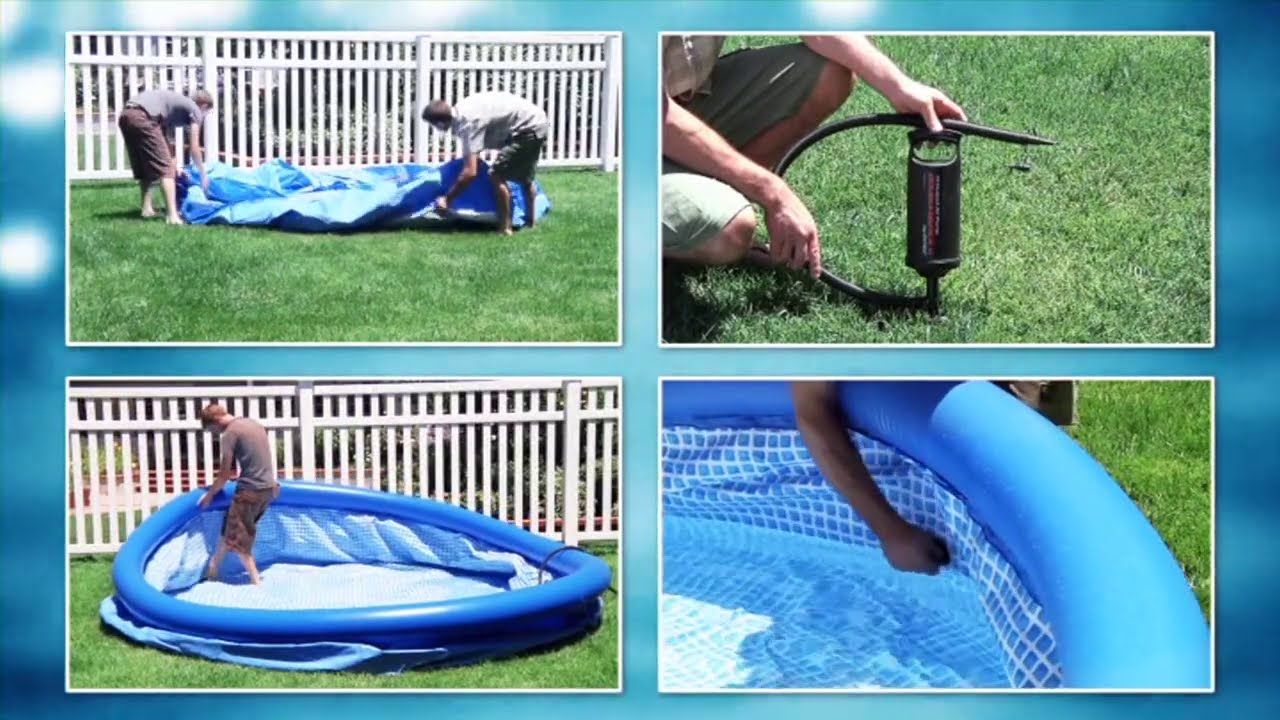 Abdeckplane Pool 200 X 150 Intex Easy Set Pool Ø 244 Cm
