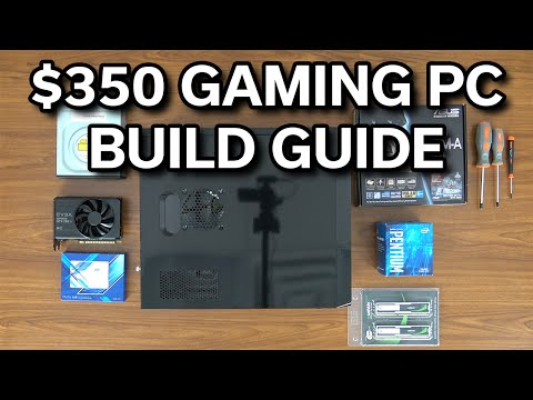 Build Guide - $350 Gaming PC - Pentium G4400 - GTX 750 TI