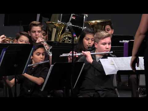 Twality Middle School Band Fall Concert 2017