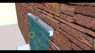 DIY Wasserwand Wasserfall Zimmerbrunnen Selber Bauen - Bauanleitung