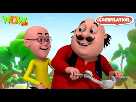 Motu Patlu - 6 episodes in 1 hour   3D Animation for kids   #60