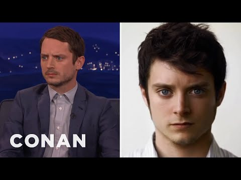 Elijah Wood Is Ready To Fight Daniel Radcliffe  - CONAN on T