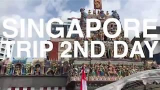 シンガポール旅行2日目(オープントップバス~セントーサ島~リバークルーズ噴水ショー)