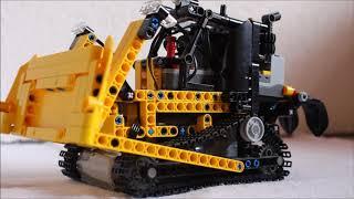 Lego Technic Full RC Bulldozer    l    Danex.creations