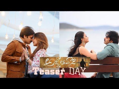 AGNYAATHAVAASI TEASER DAY || Pawan Kalyan...