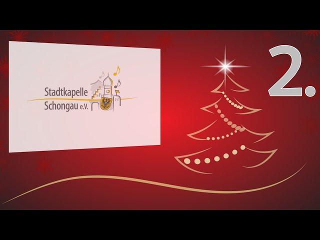 Videokonzert zum 2. Advent von der Stadtkapelle Schongau