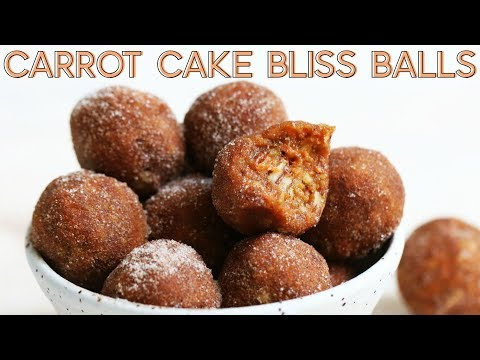 Carrot Cake Protein Bites