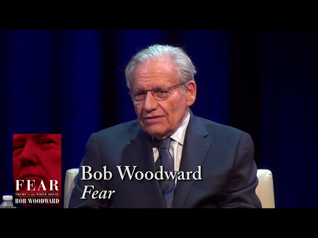 BOB WOODWARD: A Commitment to Objective Journalism