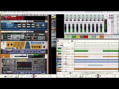 Propellerhead Software - Reason 8 - Rap/HipHop Song Showcase (latest build)