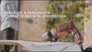 Perceuse à percussion 850W BEH850 - BLACK+DECKER