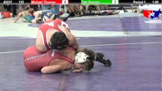 FSN 132: Michael Thomas (Perry Meridian) vs. Tate Hansen (Blackfoot wrestling)
