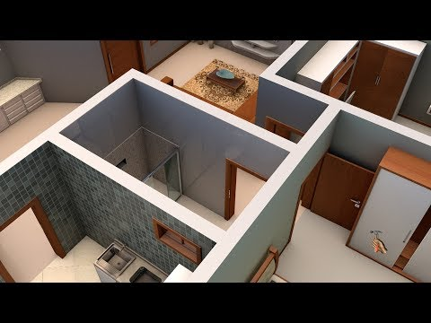 2 Bedrooms House Design