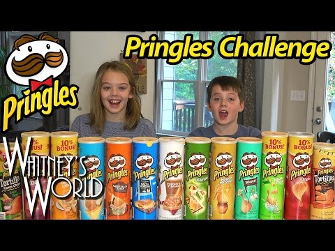 PRINGLES CHALLENGE | Whitney and Braxton Bjerken