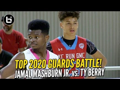 Ty Berry vs Jamal Mashburn Jr! 2020 Guards Battle at UAA Finals! Full Highlights!