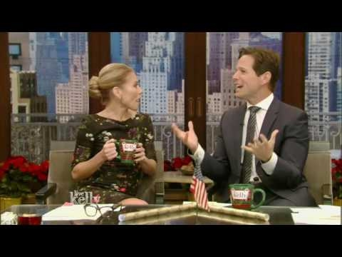 Live With Kelly 12/19/2016 co-host Scott Wolf;Kevin Costner