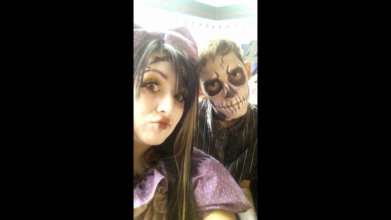 13th Floor Haunted House Doll Creepy Little Girl Makeup