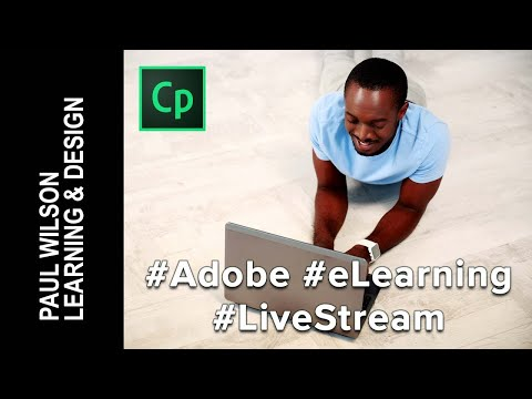 #AdobeCaptivate #eLearning #LiveStream - Your First Advanced Actions