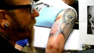 Interview with Award Winning Tattoo Artist Rick DeVille of The Lucky DeVille Tattoo Company