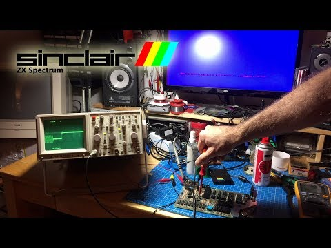 ZX Spectrum Issue 2 Repair and Restoration