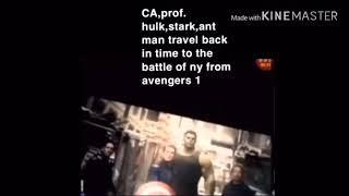 Avengers endgame leaked footage real 😱