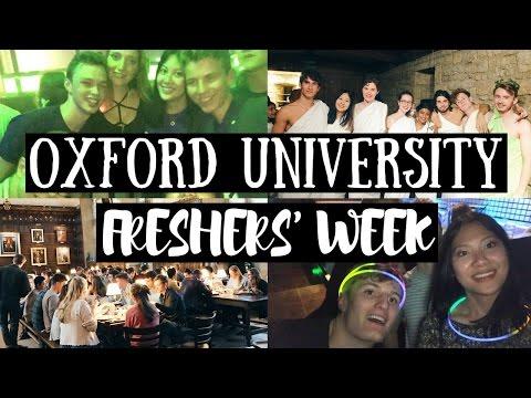 OXFORD UNIVERSITY FRESHERS' WEEK 2016 | viola helen
