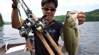 fishing topwaters and jigs for reservoir bass my rod reel arsenal is back