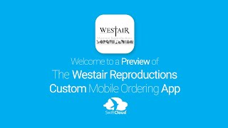 Westair Reproductions - Mobile App Preview - WES981W