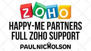 Happy-Me Ltd. Zoho Partners Still Get Full Zoho Support