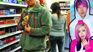 People Who Got CAUGHT Shoplifting!